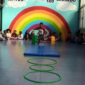 Centro Social da Buraca aula de ginástica